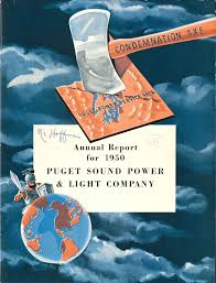 Puget Sound Power And Light Company File Puget Sound Power Light Co Annual Report 1950