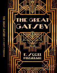 the great gatsby digital art the great gatsby book cover poster art 6 by
