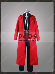 Procosplay Size Chart New Fullmetal Alchemist Edward Elric Cosplay Costume Mp002881