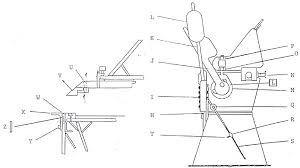 sheet metal bender plans. diagram of a sheet metal hand brake machine showing fingers for making box and pan shapes bender plans k