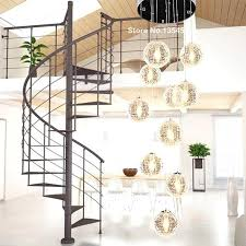large hanging lamp modern chandeliers globe glass ceiling lamp with led light fixture re stair long home lighting in chandeliers from lights big
