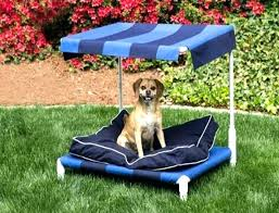 Outdoor Dog Bed With Canopy Outdoor Dog Bed With Shade Cover Kennel ...