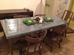 made our dining room table out of an old door door tables dining room tables