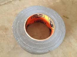 remove fiberglass from skin with duct tape