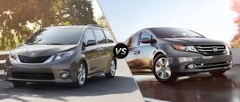 2015 Toyota Sienna vs. 2015 Honda Odyssey