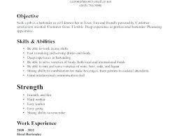 Resume For A Bartender Cool Bartender Resume Cover Letter Sample Cover R For Bartender Resume