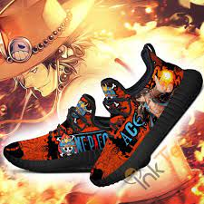 Ace sacrificed himself to save luffy from admiral akainu. Portgas D Ace One Piece Anime Reze Shoes