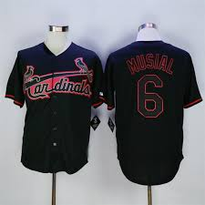Baseball Black Cardinals Black Cardinals Baseball Jersey