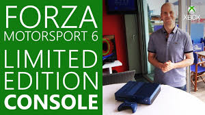 video forcelebrate 10 years of racing with the xbox one forza motorsport 6 limited edition console