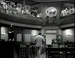 Atticus Finch leaving courtroom