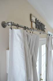 permanent mount shower rod modern curved contemporary u shape curtain kohler fixed bronze hookless hbh49wav01sl77 white polished nickel