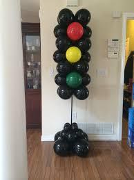 Balloon Stop Light Stop Light Balloon Column In 2019 Balloon Columns Balloon