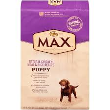 Nutro Max Puppy Natural Chicken Meal Rice Recipe Dog Food