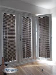 venetian blinds for patio doors. Unique Doors Brown Perfect Fit Venetian Blinds On Patio Doors Intended For C