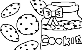Small Picture Extraordinary Design Ideas Cookie Coloring Pages Cookie Coloring