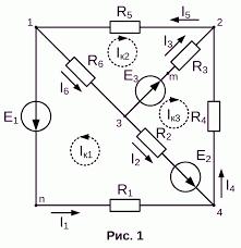 Реферат Расчет сложной электрической цепи постоянного тока  Расчет сложной электрической цепи постоянного тока