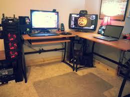 small gaming desk awesome cool computer setups and gaming setups