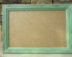 Decorative Framed Bulletin Boards Decoration Ideas Rustic Framed Cork Board
