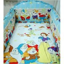 snow white and seven draf crib bedding