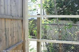 fence meaning. How To Make A Fence Taller Using The Existing Posts Longer Table Meaning