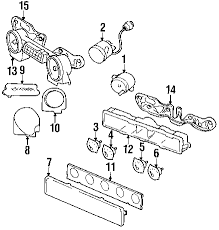 com acirc reg jeep instrument panel instrument gauges circuit board 1992 jeep wrangler s l4 2 5 liter gas instrument gauges