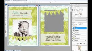 Create 5x7 Photo Cards In Photoshop Youtube