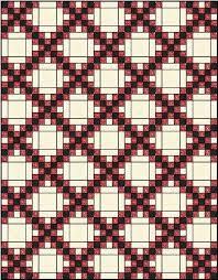 Irish Quilt Patterns irish chain quilt pattern single double and ... & Irish Quilt Patterns irish chain quilt pattern single double and triple  irish chain Adamdwight.com