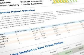 closed accounts from credit report