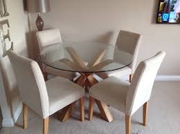 next dining furniture next glass dining table and chairs furniture r