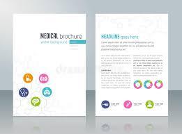 healthcare brochure templates free download medical brochure template stock vector illustration of editable
