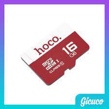 Thẻ Nhớ Micro SD HOCO 16GB (Tốc Độ Cao - Hoàn Thiện Cao Cấp - Phụ kiện VIP  HN)