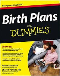 How To Develop A Birth Plan Birth Plans For Dummies Rachel Gurevich Sharon Perkins