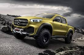 Mercedes X-Class Rivalling BMW Pickup Truck Imagined in Sturdy Stance