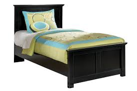 Maribel Black Twin Bed | furniture | Ashley bedroom, Panel bed, Bed