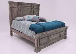 maverick king size bed gray home
