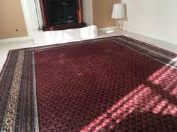 red oriental rug 8 6 x 11 150 excellent condition richmond va