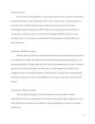 Personal Development Reflective Essay Examples Reflection Example