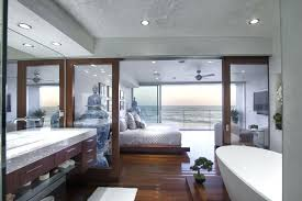master bedroom with open bathroom. Master Bedroom With Open Bathroom In Luxury Designs These Days Seeing Bathrooms Much