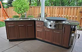 Outdoor Kitchen Furniture Outdoor Kitchen Cabinets Especially For Summer The Kitchen
