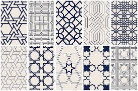 Art Patterns Beauteous Islamic Art Vector Patterns Graphic Patterns Creative Market