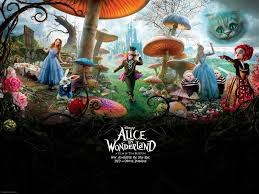 alice in wonderland wallpaper tim burton wallpaper 18698658