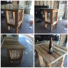 Coffee Tables Out Of Pallets Bar Table Made Out Of Recycled Pallets O Pallet Ideas O 1001 Pallets