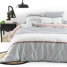 nayma printed duvet cover la redoute interieurs image 0