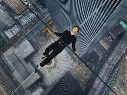philippe petit tightrope artist recounts world trade center wire joseph gordon levitt as philippe petit in the walk