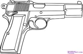 Small Picture Gun Coloring Pages fablesfromthefriendscom