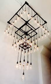 industrial chandelier lighting. This Massive Industrial Chandelier Has Four Tiers, So It\u0027s Suitable For A Large Space With Lighting