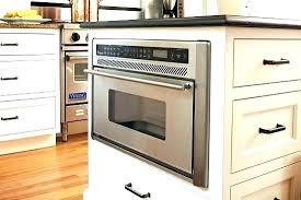 microwave in island. Microwave In Island Kitchen With Oven Enlarge Housing The .
