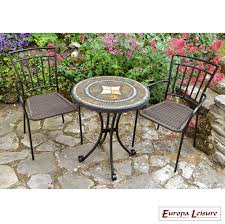 mosaic table outdoor furniture luxury garden furniture mosaic table set