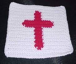Crochet Cross Pattern Best ROW COUNT CROSS AFGHAN SQUARE Crochet Pattern Free Crochet Pattern