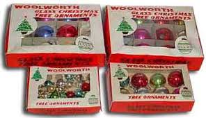 Xmas Decorations at F.W. Woolworth
